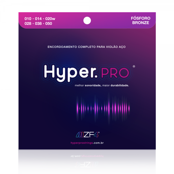Hyper.PRO Fósforo Bronze 010